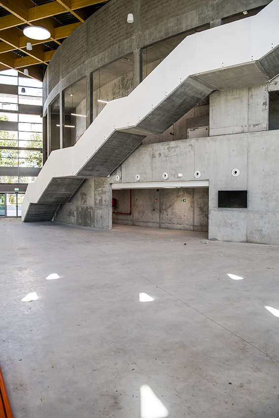 bâtiment W - campus Ersame